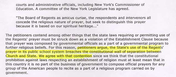 wall of separation between church and state essay