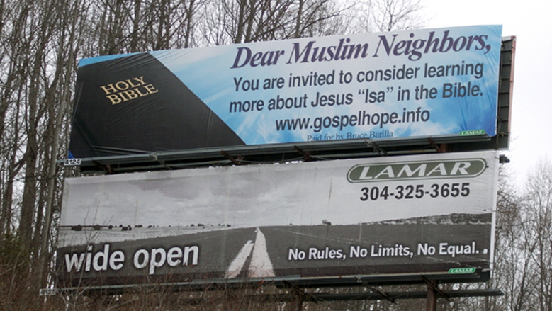 Dear Muslim Neighbors
